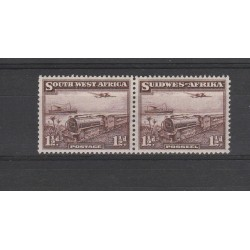 SOUTH AFRICA 1937 LOCOMOTIVA 2 VAL   MNH  MF54708