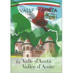 2008 ITALIA REPUBBLICA FOLDER L'ITALIA E LE SUE REGIONI VALLE D'AOSTA MF27973