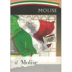 2008 ITALIA REPUBBLICA FOLDER L'ITALIA E LE SUE REGIONI IL MOLISE MF27972