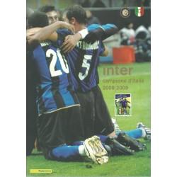 2009 ITALIA REPUBBLICA FOLDER INTER CAMPIONE 2008/2009 MF27969
