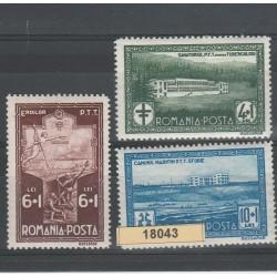 1932 ROMANIA  PRO DIPENDENTI STATALI 3 VAL MLH  MF18043