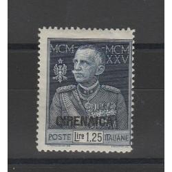 1925-26 CIRENAICA GIUBILEO 1 25 L DENT 13 1/2 SASS 26 MNH MF55234