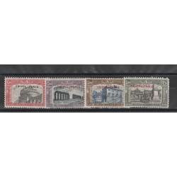 1929 TRIPOLITANIA SERIE MILIZIA II 4 VALORI NUOVI MNH MF14450