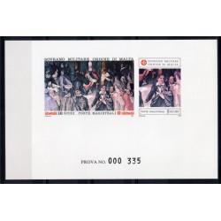 1990 S.M.O.M. PROVA ANTICHE VESTIGIA DELL'ORDINE UNIFICATO N 338/339 MNH MF27897