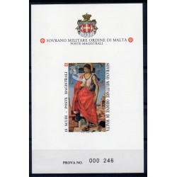 1994 S.M.O.M. PROVA S. GIOVANNI BATTISTA UNIFICATO N BF43 MNH MF27889