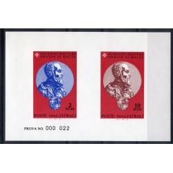 1994 S.M.O.M. PROVA MAESTRO J. DE LA VALLETTE-PARISOT UNIFICATO N 459/460 MNH MF27901