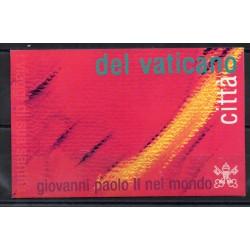 2002 VATICANO VATICAN CITY LIBRETTO VIAGGI G. PAOLO II USATO MF27954
