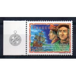 1998 EMISSIONE CONGIUNTA VENEZUELA ITALIA COLOMBO VESPUCCI 1 VALORE MF27951