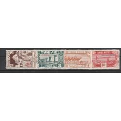 TUNISIA TUNISIE 1945  PRO COMBATTENTI 4 VAL MNH YVERT 269/272 MF 54884