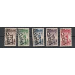 TUNISIA TUNISIE 1953 FIERA DI TUNUSI 5 VAL MNH MF 54966