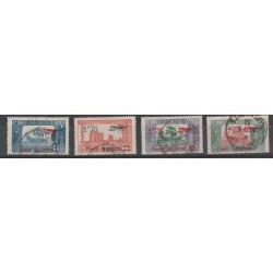 TUNISIA TUNISIE 1906 - 20  VEDUTE VARIE 4VAL USATI MF54876