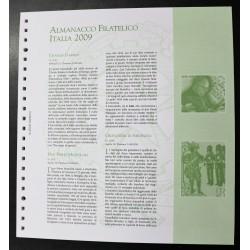 ITALIA 2009 FOGLI MARINI QUARTINE MODELLO KING USATO 32 FOGLI MF26945