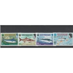 VIRGIN ISLANDS 1967 FAUNA  PESCI  6  V MNH MF55254