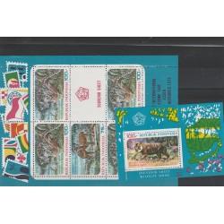 1975 INDONESIA FAUNA PESCI  3 VAL  MNH  MF55350