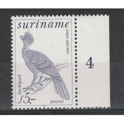 SURINAME 1979  FAUNA UCCELLI  1 V MNH MF55351