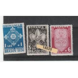 1936  ROMANIA  SCOUT  7 VAL NUOVI MNH MF18025