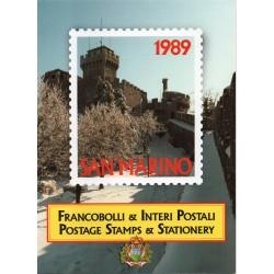 1998 VATICANO LIBRO UFFICIALE COMPLETO RACCOLTA EMISSIONI FILATELICHE MF25793