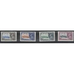 SIERRA LEONE  1935 GEORGE V  GIUBILEO  YVERT N 151-154  -4 V MLH MF55372