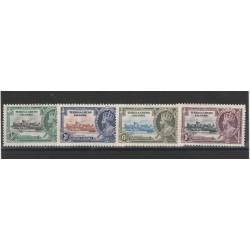 TRINIDAD E TOBAGO  1935 GEORGE V  GIUBILEO  YVERT N  131-134 - 4 V MLH MF55368