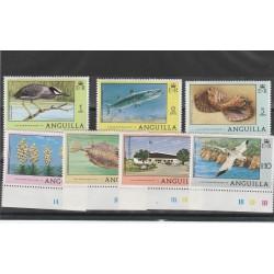 ANGUILLA 1977  FAUNA 7  V MNH MF55356
