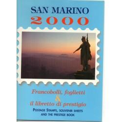 2001 SAN MARINO LIBRO UFFICIALE COMPLETO RACCOLTA EMISSIONI FILATELICHE MF28229