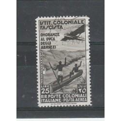 1934 EMISSIONI GENERALI PA ONORANZE DUCA DEGLI ABRUZZI USATO MF55429