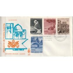 1964 FDC VENETIA N. 78/V VATICANO BETHLEHEM JERUSALEM-NAZARETH MF80107