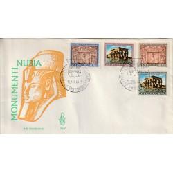 1964 FDC VENETIA N. 79/V VATICANO MONUMENTI DELLA NUBIA MF80108