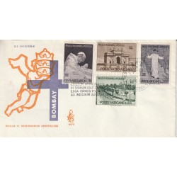 1964 FDC VENETIA N. 85/V VATICANO PAULUS VI MISSIONARIUS MF80114