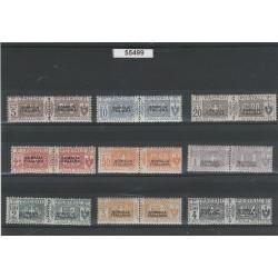 1917 - 1919 SOMALIA PACCHI POSTALI  9 V NUOVI MNH MF55499
