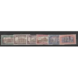 1925 TRIPOLITANIA SERIE ANNO SANTO 6 VAL MNH  MF55500