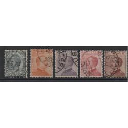 1917-20 REGNO MICHETTI - LEONI  5 VAL MNH  MF10754