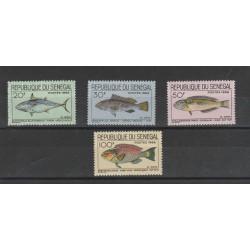 SENEGAL 1966  FAUNA PESCI 4  VAL MNH MF55546