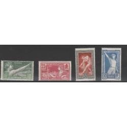 1924 FRANCIA OLIMPIADI DI PARIGI 6 VAL MNH  MF55536