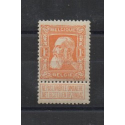 1905 BELGIO SERIE  75 INDIPENDENZA 1 VAL MLH MF18737