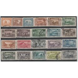 1930-35 GRAN LIBANO REP LIBANESE SITI ARCHEOLOGICI  21 VAL  USATI MF52543