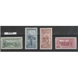 1934 CECOSLOVACCHIA CESKOSLOVENSKO  LEGIONE CECOSLOVACCA 4 VAL MF51544