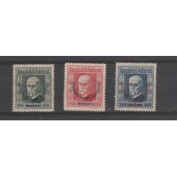 1925 CECOSLOVACCHIA CESKOSLOVENSKO CONGRESSO OLIMPICO 3 VAL MLH MF55520