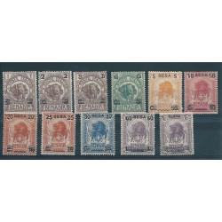 1923 SOMALIA SERIE ELEFANTE...