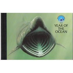 1998 ISOLA DI MAN ANIMALI OCEANICI LIBRETTO PRESTIGE MF28893