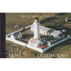 1996 ISOLA DI MAN FARI LIGHTHOUSES LIBRETTO PRESTIGE MF28889