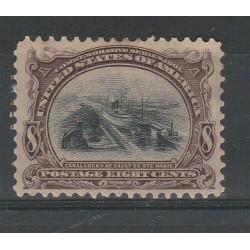 1901 STATI UNITI  USA  EXPO DI BUFFALO YVERT N 162 1 VAL MLH MF55022