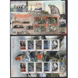 2004 MAN ANNATA COMPLETA 70  VALORI E 4 BF NUOVI MNH MF24421