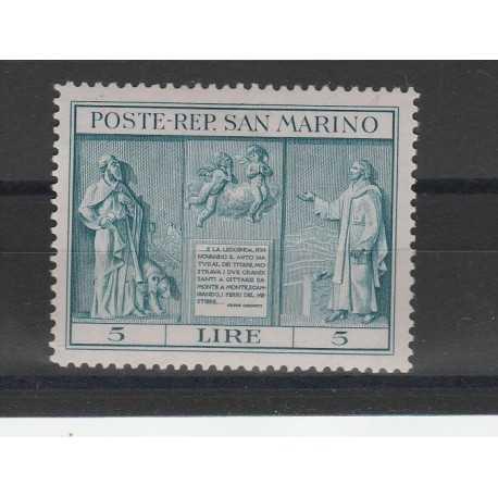1937 SAN MARINO INDIPENDENZA 1 VAL MNH MF18964