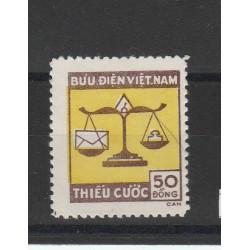 1955 VIETNAM SEGNATASSE  1 VAL MNH MF51018