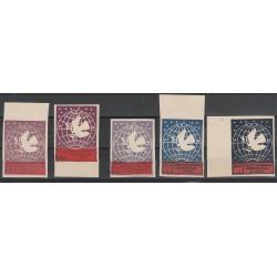 1946 ALBANIA CONGRESSO DELLE DONNE 5 VAL ND MLH MF55041