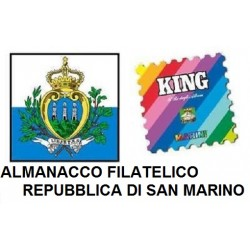 2015 FOGLI AGGIORNAMENTO MARINI SAN MARINO MOD KING NUOVO MF25413