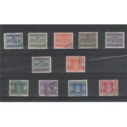 1945 LUOGOTENENZA SEGNATASSE RUOTA 11 V USATI  MF55125