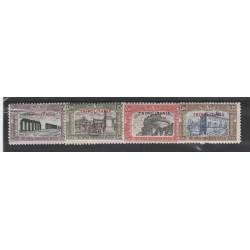 1929 TRIPOLITANIA SERIE MILIZIA 2 - 4 VALORI NUOVI MLH MF55585