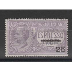 1917 REGNO ESPRESSO URGENTE NON EMESSO  1  VAL USATO MF14783